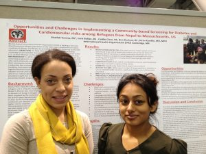 IHO Presents its results at APHA conf in Washington DC 2014